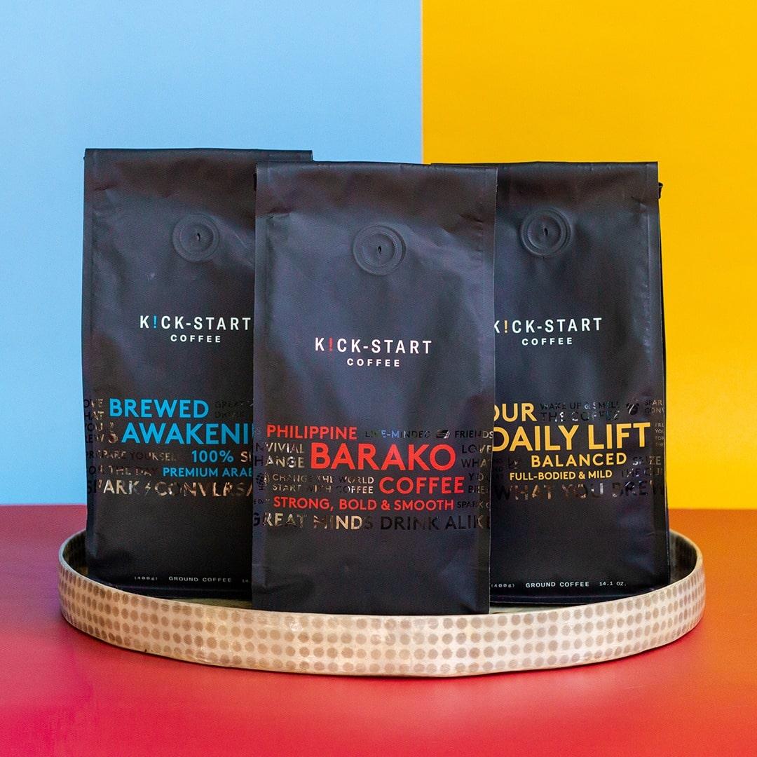 Kickstart Coffee Trio
